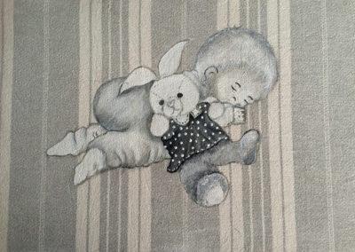 tableau-bebe-endormi